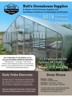 When Service Counts 2019 Growers Catalog