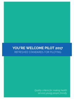 YOU'RE WELCOME PILOT 2017 - An independent …