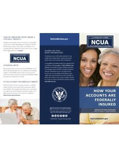 How Your Accounts are Federally Insured Brochure