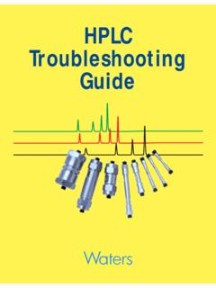 HPLC Troubleshooting Cover - CCC/UPCMLD