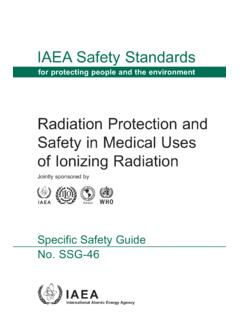 Radiation Protection and Safety in Medical Uses of ...