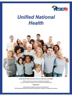 Unified National Health - Enrollment123