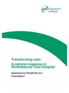 Department of Health Review: Final Report