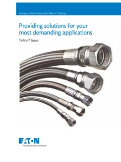 Providing solutions for your most demanding applications