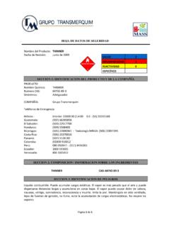 HOJA DE DATOS DE SEGURIDAD - UABC - Instituto de ...