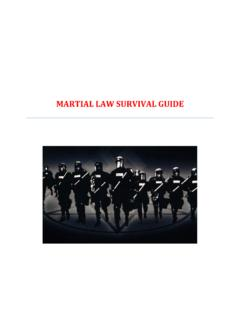 MARTIAL LAW SURVIVAL GUIDE - Extreme Family Survival