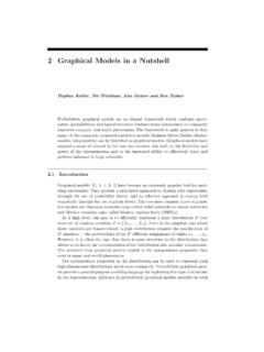 2 Graphical Models in a Nutshell - ai.stanford.edu