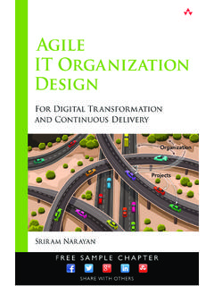 Agile IT Organization Design: For Digital Transformation ...
