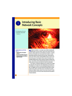 BaseTech 1 Introducing Basic Network Concepts