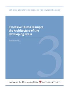 Stress Disrupts the Architecture of the Developing Brain