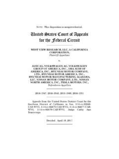 NOTE United States Court of Appeals for the …