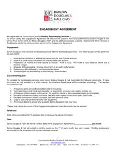 ENGAGEMENT AGREEMENT - Dave Hall