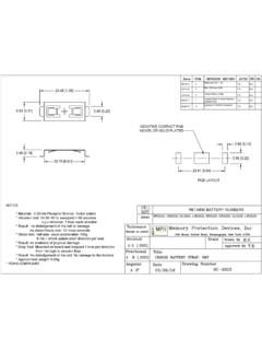 BC-2003 Datasheet and Technical Drawing | MPD