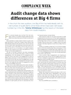 differences at Big 4 firms - Deloitte US