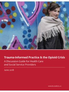 Trauma-Informed Practice & the Opioid Crisis