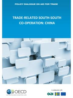 TRADE-RELATED SOUTH-SOUTH CO-OPERATION: …