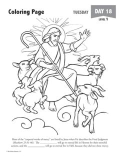 Coloring Page TUESDAY DAY 18 - Holy Heroes